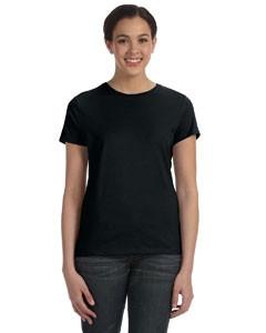 Hanes Ladies' 4.5 Oz. 100 percent Ring Spun Cotton nano-T® T-Shirt