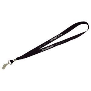 Lanyard with Bulldog Clip