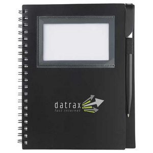"5.5"" x 7"" Star Spiral Notebook"