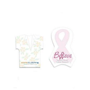 """4""""x6"""" BIC® Adhesive Die Cut Van Notepad - 50 Sheet"""