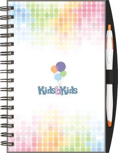 "ClearView™ Journal - SeminarPad w/PenPort & Pen (5.5""x8.5"")"