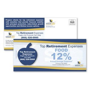SuperSeal 4 x 9 Direct Mail Postcard