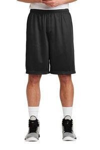 "Sport-Tek® Long PosiCharge® Classic Mesh Adult Shorts w/ 9"" Inseam"