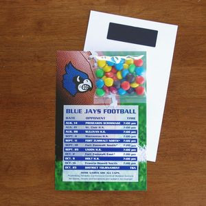 Mini Bag M&Ms® on Stick Up Card