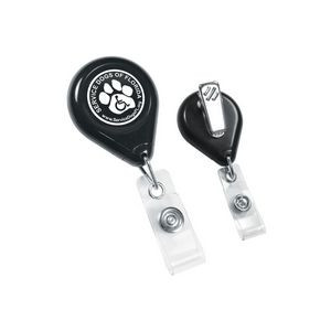 Tear Shape Retractable Badge Holder
