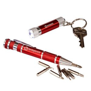 Keylight and Screwdriver Set - Red