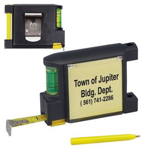 Level Notepad Tape Measure (6.5')