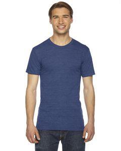 American Apparel Unisex Triblend Short Sleeve Track T-Shirt