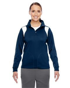 Team 365® Ladies' Elite Performance Quarter Zip Jacket