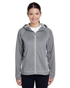 Team 365® Ladies' Excel Mélange Performance Fleece Jacket