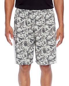 Team 365® Men's Tournament Sublimated Camo Shorts