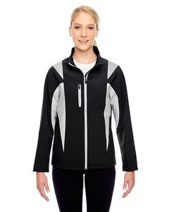 Team 365 Ladies' Icon Colorblock Soft Shell Jacket