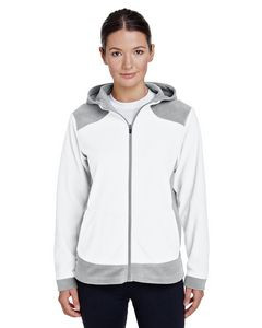 Team 365® Ladies' Rally Colorblock Microfleece Jacket
