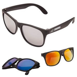 Sharp Mirrored Glasses