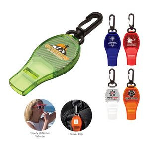 Safety Reflector Whistle