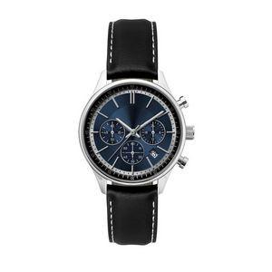 Ladies Watch Blue Sunray Dial Chronograph