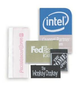 3 to 4 Square Inch Woven Labels