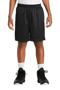 "Sport-Tek® Youth PosiCharge® Classic Mesh Shorts w/ 7"" Inseam"